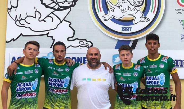 Vai all'articolo: #futsalmercato, A&S: quartetto di talentini.