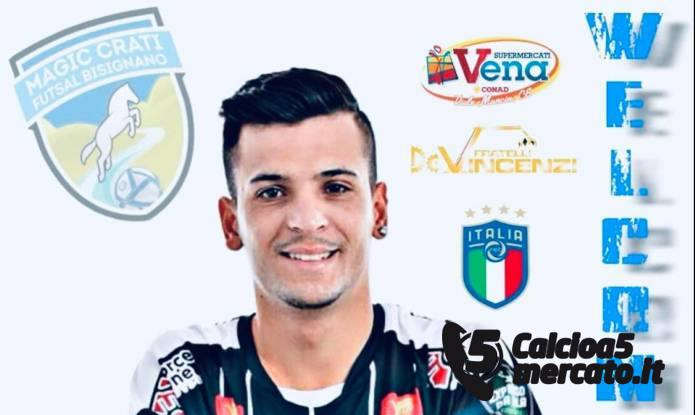 Vai all'articolo: #futsalmercato, Diego Tezza al Magic Crati Bisignano.